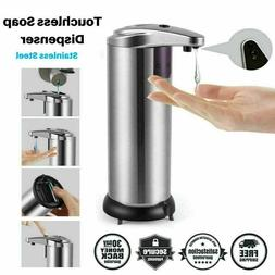 Stainless Steel Automatic Soap Dispenser Touchless Smart Inf