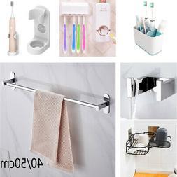 Stainless Steel Bathroom Kits Towel Rail Rack Bar Tissue Soa
