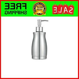 Stainless Steel Countertop Soap Dispenser 13.5 Oz - Rust and
