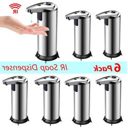 Stainless Steel HandFree Automatic IR Sensor Touchless Soap