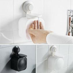 Suction Cup Wall Mount Bathroom Soap Dispenser Shower Lotion