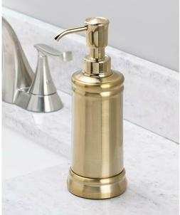 InterDesign Soap Pump Dispenser for Bathroom Countertop or K