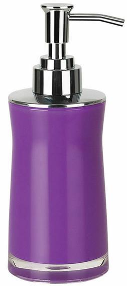 Spirella Sydney Acrylic Purple Soap Dispenser with Foam Pump