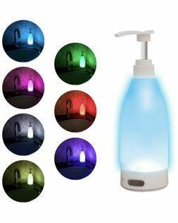TikTok RGB LED 7 Color Motion Activated Soap Dispenser Night