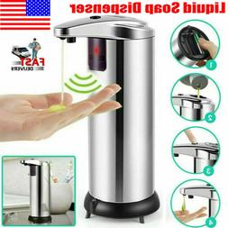 Touchless Stainless Steel Handsfree Automatic IR Sensor Soap