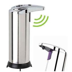 touchless stainless steel handsfree automatic