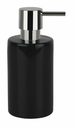 Spirella Tube Black Soap Dispenser Stoneware Branded Product