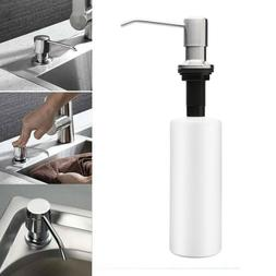 Universal Built In Soap Dispenser Liquid Lotion Pump Kitchen