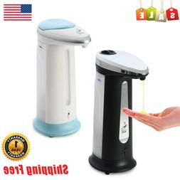 US 400ml Automatic Soap Liquid Dispenser IR Touchless Handsf