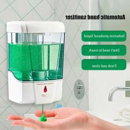 US Automatic Liquid Soap Dispenser 700ML Touchless Sensor Wa