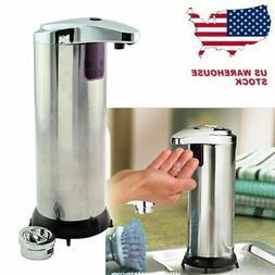 US Hands Free Auto IR Smart Sensor Touchless Soap Liquid Dis