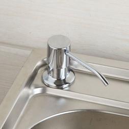 US Kitchen&Bathroom Black Sink Stainless Steel Liquid Soap D