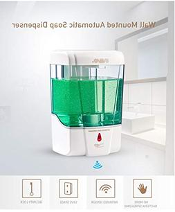 SVAVO Hand Free Soap Dispenser Electric Automatic Soap Dispe