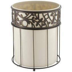 vine wastebasket trash can