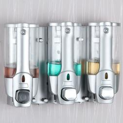 Wall Mount Soap Sanitizer Bathroom Washroom Shower Shampoo D