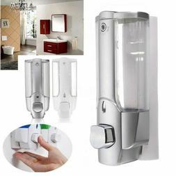 Wall Mounted Liquid Soap Dispenser Bathroom Hand Shower Empt