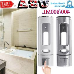 Wall Mounted Liquid Soap Dispenser Bathroom Hand Sanitizer S