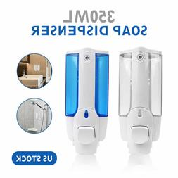 Wall Mounted Shower Shampoo Liquid Soap Lotion Dispenser Bat