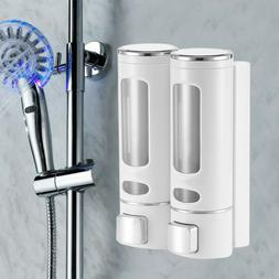 Wall Mounted Soap Dispenser Liquid Hand Wash Toilet Loo Bath