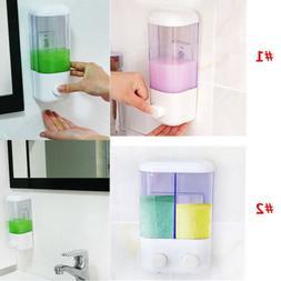 Wall Mounted Soap Shampoo Dispenser Shower Pump for Bathroom Hotel 500//1000ml
