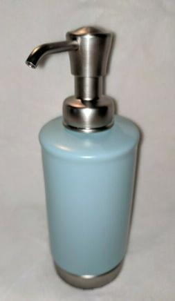 InterDesign York Matte Seaform Soap/Lotion Dispenser Pump 11